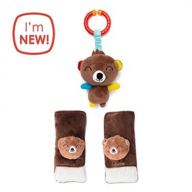Ochraniacze Na Pasy I Zawieszka Bear Diono