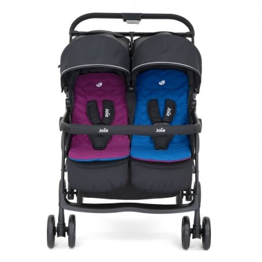 Wózek Joie Aire Twin Rosy&Sea