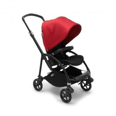 Wózek Bugaboo Bee6 Black-Black-Red