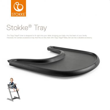 Stokke Tray Black