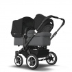 BUGABOO DONKEY2 DUO black/grey melange/black
