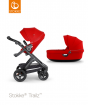 _WÓZEK STOKKE® TRAILZ™ 2W1 black/red