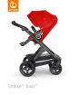 _WÓZEK STOKKE® TRAILZ™ SPACEROWY black/red
