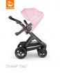 _WÓZEK STOKKE® TRAILZ™ SPACEROWY black/lotus pink