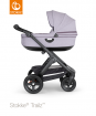 _WÓZEK STOKKE® TRAILZ™ głęboki black/brushed lilac