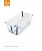 _  WANIENKA STOKKE® FLEXI BATH™ transparent blue + wkład