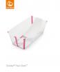 _  WANIENKA STOKKE® FLEXI BATH™ transparent pink + wkład