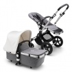 _   BUGABOO CAMELEON 3 PLUS alu/grey melange/fresh white