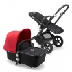 -BUGABOO CAMELEON 3 PLUS black/black/neon red