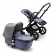 _   BUGABOO CAMELEON 3 PLUS black/blue melange/grey melange