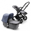 _   BUGABOO CAMELEON 3 PLUS black/grey melange/blue melange