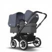 BUGABOO DONKEY2 DUO black/grey melange/steel blue