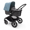 - BUGABOO FOX2 2W1 black/grey melange/vapor blue