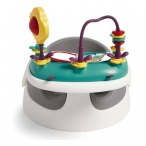 -KRZESEŁKO BABY SNUG SOFT GREY+tacka z zabawkami