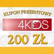-KUPON PREZENTOWY 200ZŁ