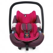 FOTELIK AIR SAFE + CLIP rose pink