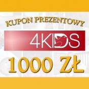 -KUPON PREZENTOWY 1000 ZŁ
