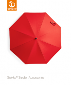 PARASOL DO WÓZKÓW STOKKE® red
