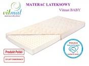 MATERAC LATEKSOWY Baby 160x70