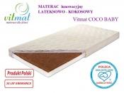 MATERAC LATEKS-KOKOS COCO Baby 140x70