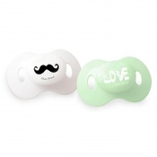 SMOCZEK 2X mustache love