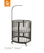 ŁÓŻECZKO STOKKE® SLEEPI™ MINI hazy grey