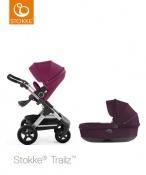 ! PROMOCJA ! WÓZEK STOKKE®  TRAILZ™ 3w1 purple