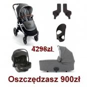 -WÓZEK OCARRO 5W1 grey twill