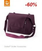 TORBA PIELĘGNACYJNA STOKKE® purple