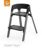 KRZESEŁKO STOKKE® STEPS™ storm grey/black