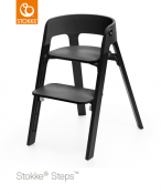 KRZESEŁKO STOKKE® STEPS™ oak black/black