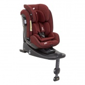 - FOTELIK STAGES ISOFIX 0-25 kg cranberry
