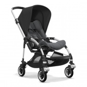 -BUGABOO BEE⁵ alu/grey melange/black