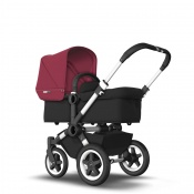 BUGABOO DONKEY2 MONO alu/black/ruby red