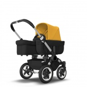 BUGABOO DONKEY2 MONO alu/black/sunrise yellow