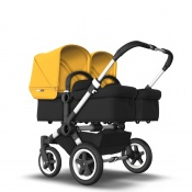 BUGABOO DONKEY2 TWIN alu/black/sunrise yellow