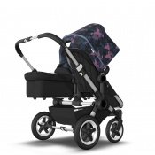 BUGABOO DONKEY2 DUO alu/black/birds