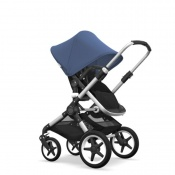 - BUGABOO FOX 2W1 alu/black/sky blue