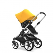 - BUGABOO FOX 2W1 alu/black/sunrise yellow