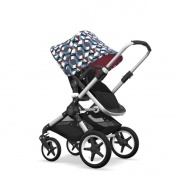 - BUGABOO FOX 2W1 alu/black/waves