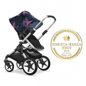 - BUGABOO FOX 2W1 alu/black/birds