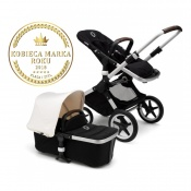 - BUGABOO FOX 2W1 alu black/fresh white