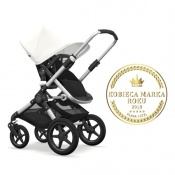 - BUGABOO FOX 2W1 alu/black/fresh white
