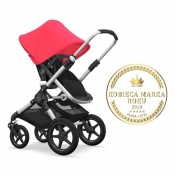 - BUGABOO FOX 2W1 alu/black/neon red