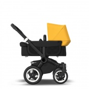 BUGABOO DONKEY2 MONO black/black/sunrise yellow