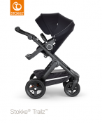 _WÓZEK STOKKE® TRAILZ™ SPACEROWY black/black
