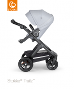 _WÓZEK STOKKE® TRAILZ™ SPACEROWY black/grey melange