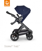 _WÓZEK STOKKE® TRAILZ™ SPACEROWY black/deep blue