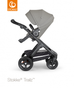 _WÓZEK STOKKE® TRAILZ™ SPACEROWY black/brushed grey
