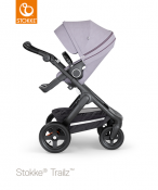 _WÓZEK STOKKE® TRAILZ™ SPACEROWY black/brushed lilac